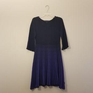 French Connection 》 Black & Purple Knit Sz 6